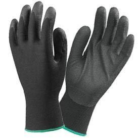 Gants de precision polyester et PVC T9