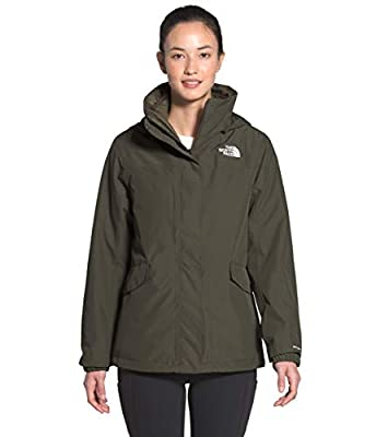 The North Face Women's Osito Triclimate Jacket, New Taupe Green, M
