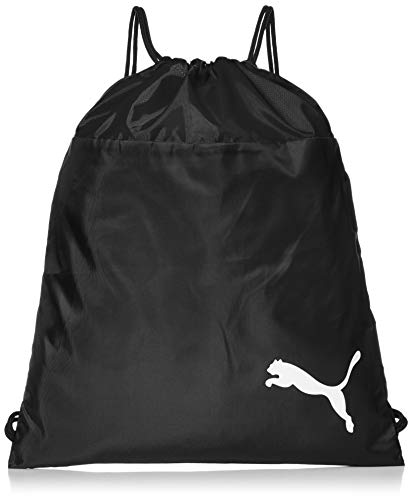 PUMA teamGOAL 23 Gym Sack Turnbeutel, Black, OSFA