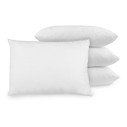 BioPEDIC 4-Pack bed pillow with Built-In Ultra-Fresh...
