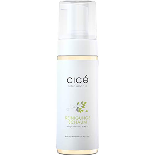 cicé Sanfter Reinigungsschaum für trockene, sensible Haut – bereitet optimal auf Anti-Aging-Pflege vor