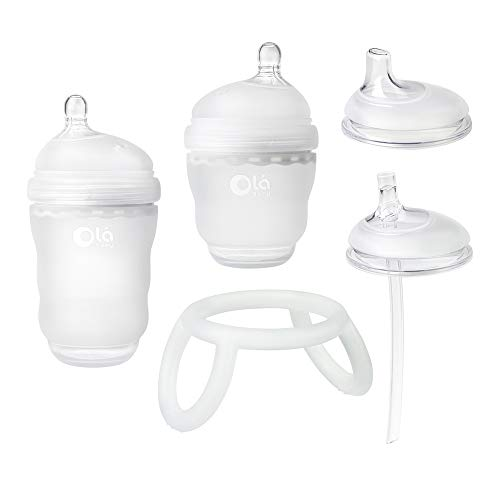 For Sale! Olababy Bottle Transitional Set (Frost)