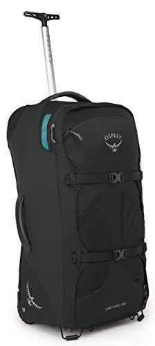 Osprey Fairview Wheels 65 Women's Wheeled Travel Pack - Black O/S