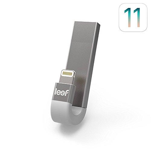 Leef iBridge 3 USB-Stick für iPhone und iPad, 32 GB, erweiterter Speicher, Schwarz, 32 GB, schwarz