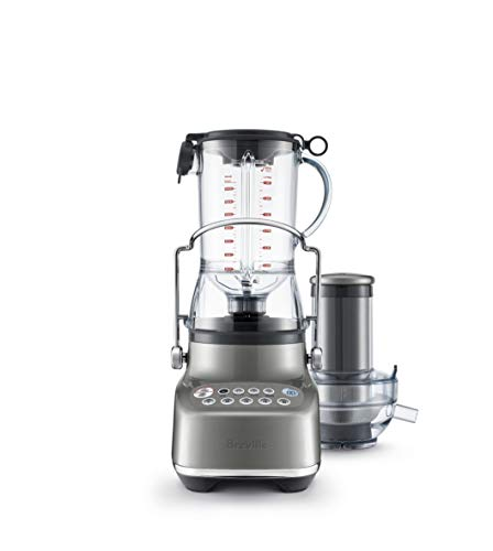 Breville BJB615SHY the 3X Bluicer Blender & Juicer in one, Smoked Hickory