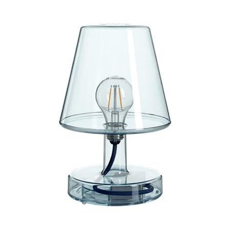 Fatboy® Lampe Transloetje   Bleu   Lampe de table/lecture/chevet   Sans câble   rechargeable avec Mini-USB