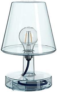Lámpara Fatboy® Transloetje | Azul | Lámpara de escritorio, luz de lectura, lámpara de mesita de luz | sin cable | recargable con Mini USB