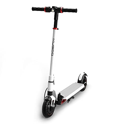 KUGOO Electric Scooter, 350W/15.5 MPH Pro Scooter, Electric Scooter for Adults, Scooter with Foldable Frame & Handle Bar, 8 Inches Inflation-Free Tires, S1 PLUSWT