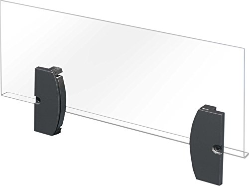 Rittal 2514.600 - Regalzubehör (Schwarz, Transparent, Kunststoff, 415 mm, 18 mm, 167 mm, 1 Stück(e))