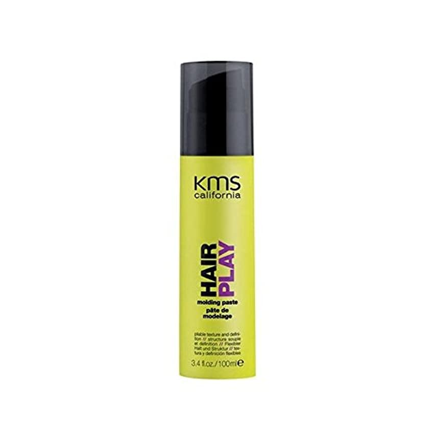 郡崖グレートオークカリフォルニア成形ペースト(100ミリリットル) x2 - Kms California Hairplay Molding Paste (100ml) (Pack of 2) [並行輸入品]