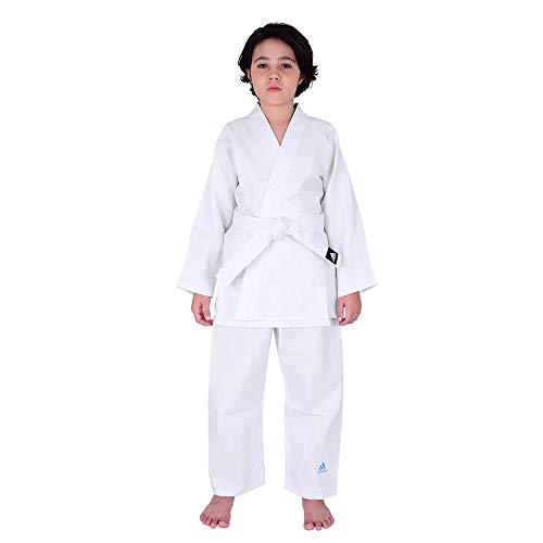 Kimono Judô adidas Infantil Reforçado Branco (120)