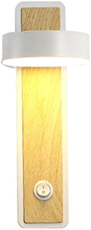LED Wandleuchte, Nordisch Wohnzimmer Gang Schlafzimmer Bett Studie Sonnenaufgang Lampe 220 V (Farbe   Weiß, Größe   5w-warm light)