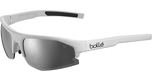 bollé BS004001 Bolt 2.0 S Gafas de sol, Offwhite Mate - Volt+ Cold White Cat 4