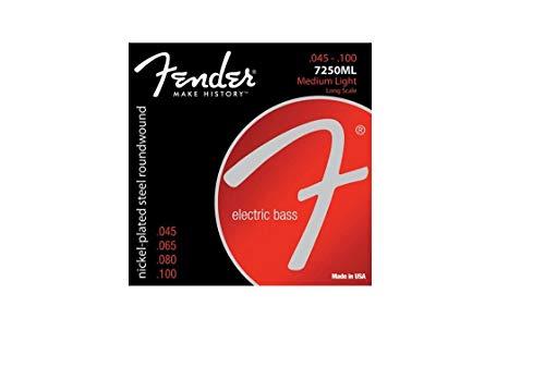 Fender accessori in acciaio nichelato Roundwound...