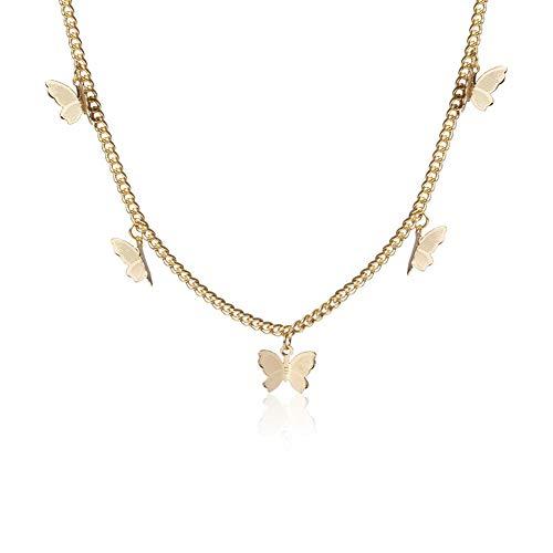 Butterfly Necklace Earrings Set $7.99 (69% Off)