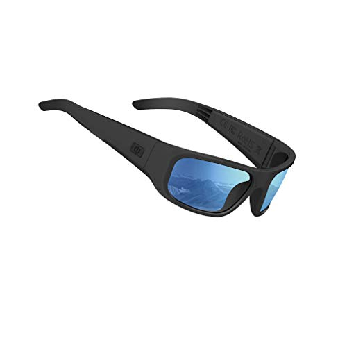 OhO Bluetooth Sunglasses,Open Ear Audio Sunglasses Speaker to Listen Music and Make Phone Calls,Water Resistance and Full UV Lens Protection for Outdoor Sports and Compatiable for All Smart Phones