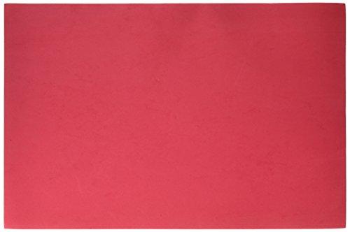 Darice Plaque de Mousse en 30,5 x 45,7 cm 2 Mm-Red Lot de 10