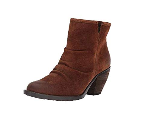 BORN Aire Women's Pull-on Boots Brown Suede (8.5 M US)