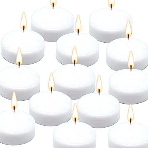 Unscented Floating Candles - Pure Rich Creamy 3