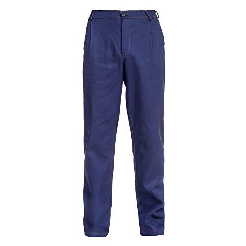 BWOLF Anax Pantaloni da Lavoro Uomo Jeans da Lavoro Uomo in Cotone, colore: blu 3XL