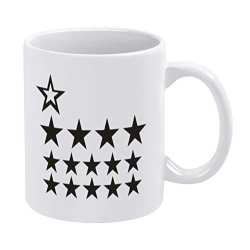 Taza Aufkleber F¨¹r Den Thermomix TM5, Sternenwolke Anthrazit Burdeos, 445 ml divertida taza de café, el mejor regalo personalizado para tu amiga amante de la familia