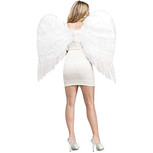 Angel Wings Feather Adult, White