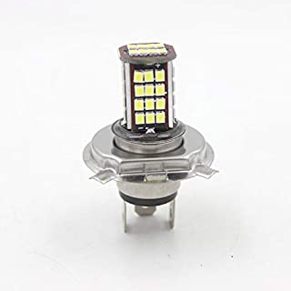 6V 56 SMD H4 LED Lamp Motorcycle Headlight Bulb Motorbike 10W 800LM 6000K White High/Low Conversion Kit