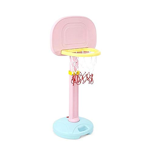Portable basketball stand Basketball Hoops Kids Safe Adjustable Portable Basketball Stand Hoop Net Set For Baby Toddler Children Juniors As A Educational Toy Gift Basketball backboard (Color : A)