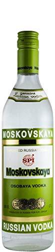 Vodka Moskovskaya (old bottle)