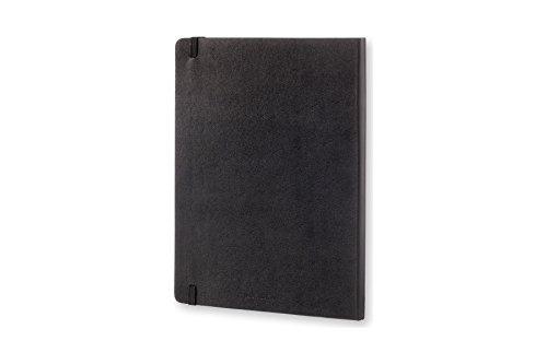 モレスキンクラシックノートブック方眼ハードカバーXラージサイズブラックQP091