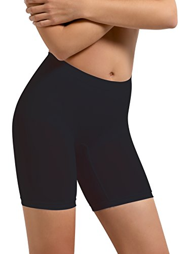 SENSI' Guaina Modellante Donna Pantaloncino Elastico Comfort Microfibra Traspirante Seamless Senza Cuciture Made in Italy