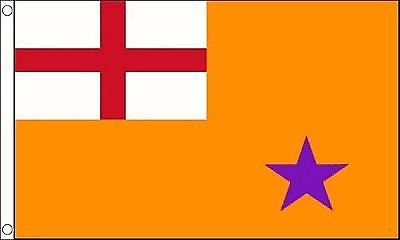 Noord-Ierland Oranje Bestel Vlag 5'x3' (150cm x 90cm) - Geweven Polyester