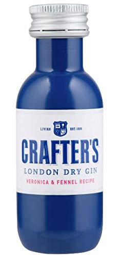 Crafter`s London Dry Gin, 40 ML, 43% Miniatur (1)
