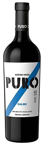 Puro Puro Malbec Bio 2019 14.5% Vol. 0.75L - 3 Paquetes de 750 ml - Total: 2250 ml