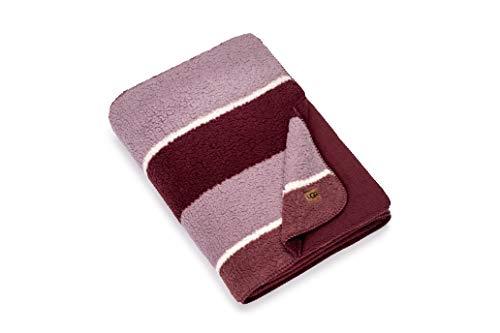 UGGRosaleen Sherpa Fleece Striped Blanket