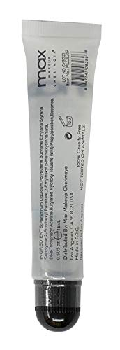 (2Pack) MAX Makeup Cherimoya Lip Polish Coconut Oil Clear Gloss
