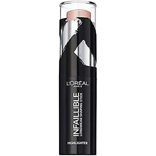 L'Oréal Paris Infallible, Stick Iluminador 24h, Tono 501 Oh My Jewels - 9...