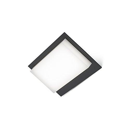 Faro Barcelona 70822 VERTICE LED Lampe applique gris foncé