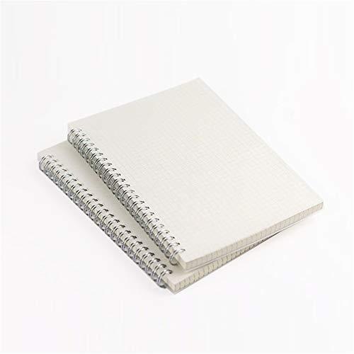Coil Loose Leaf - Cuaderno de encuadernación inalámbrica para oficina, cuaderno de tareas, cuaderno con cable de 160 páginas