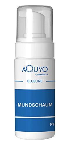 Blueline Mundschaum 100ml, Munddusche für eine gesunde Mundhygiene, antibakterielle Mundspülung, Zahnspangenreiniger (100ml)