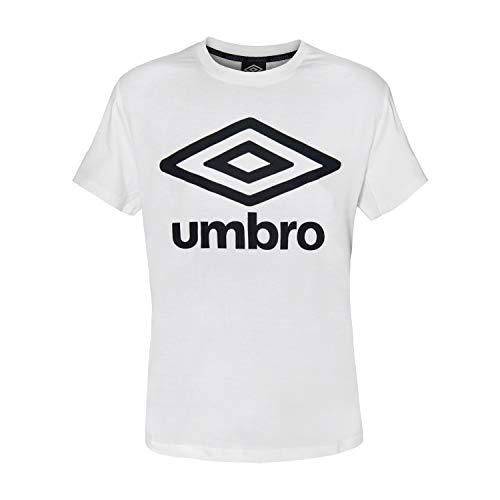 Umbro T-Shirt Maglietta Uomo Cotone Vari Colori Art.127 (White - S / 46)