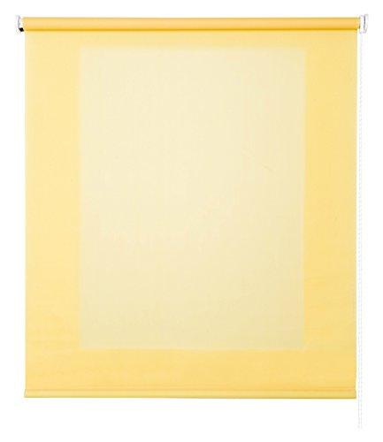 Estores Basic- Enrollable Traslúcido , Amarillo, 150x250 cm