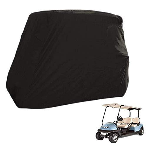 JLKDF Cubierta para Carrito de Golf a Prueba de Agua, prevención de polvoCubierta para automóvil de Golf, Cubierta Personalizada para Carrito de 2 pasajeros con Revestimiento Adicional d