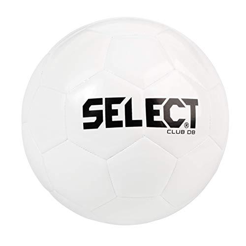 SELECT Bola de futebol Club DB V20, toda branca, tamanho 5