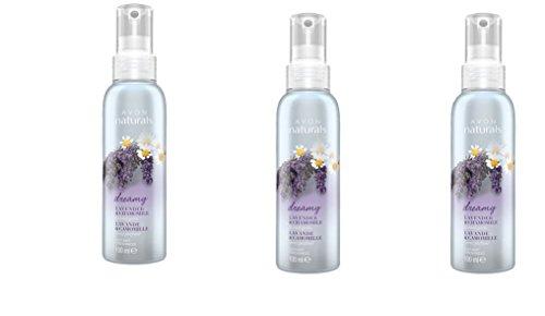Avon 3 x Naturals Raumspray Lavendel und Kamille, 3 x 100 ml, Lavender