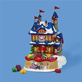 Department 56 Rudolph's Christmas Castle & Candy Dish #59337