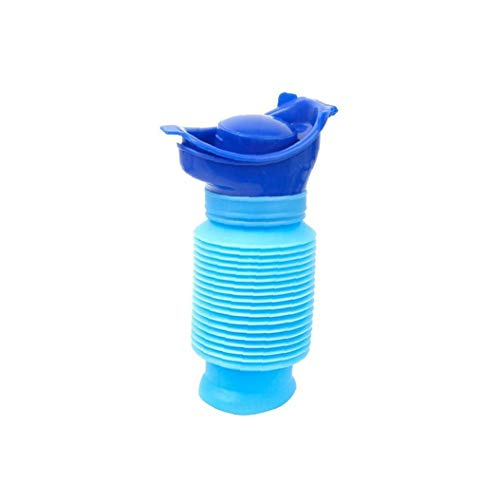 Männer Kinder Flexible Hermetic Mietklo Jungen Resuable Hygienic Reisen Urinale Kunststoff Blau