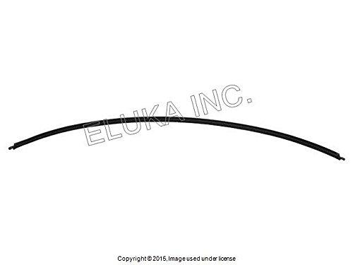 BMW Genuine Windshield Moulding Rear Lower 525i 525xi 530i 530xi 545i 550i M5 528i 528xi 535i 535xi 550i