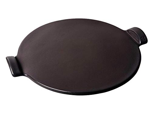 "Emile Henry Pizza Stone Round 14.5"", Charcoal"