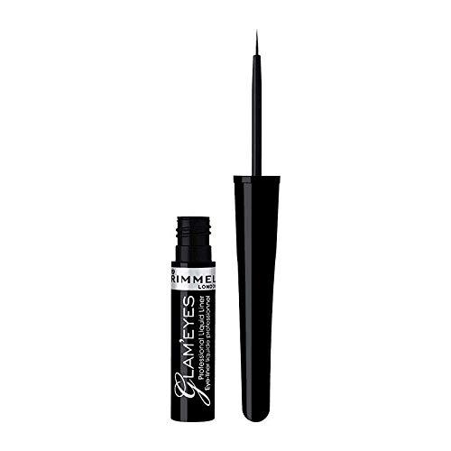 Rimmel Glam'Eyes Liquid Liner 001 Black Glamour by Rimmel